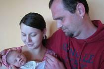Šimon Krejčí spatřil poprvé světlo světa ve čtvrtek 19. května a v ten den vážil 3,66 kg a měřil 53 cm. Pečovat o svého prvorozeného syna bude maminka Kristýna spolu s tatínkem Jakubem z Dobříše.