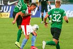 Ze zápasu FORTUNA:LIGY Příbram - Slavia