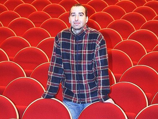 Vedoucí příbramského kina Petr Rybka