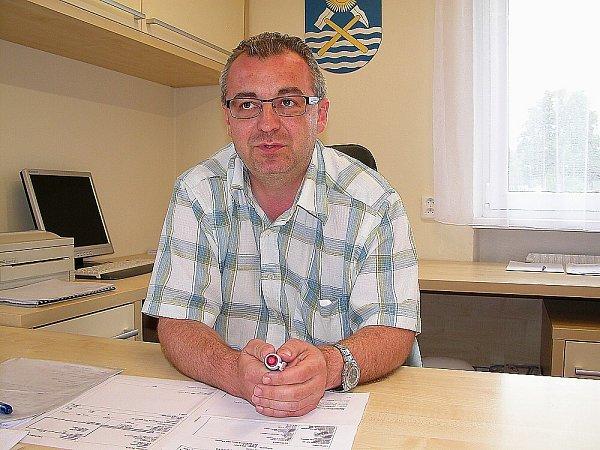 Starosta Milešova Jiří Vokrouhlík.