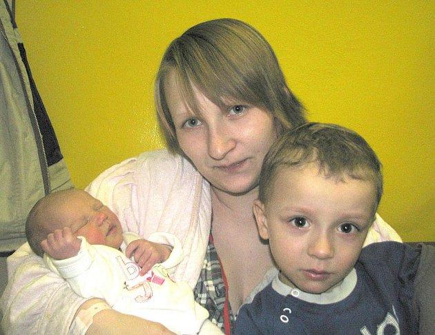 Nicol Majerová, nejmladší člen rodiny maminky Nikol, tatínka Vladimíra a tříletého Dominika z Příbrami, se prvně ohlásila světu v úterý 1. března a v ten den vážila 2,81 kg a měřila 48 cm.