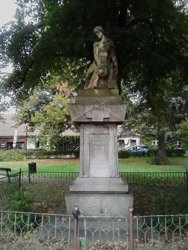 Pomník obětem světové války.