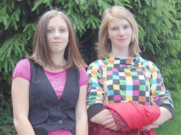 Kamarádka Anna Marie Hudečková a Martina Königsmarková.