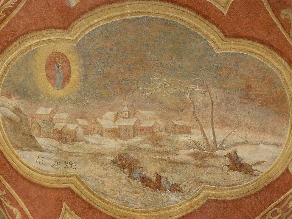 Sto svatohorských milostí: obraz číslo 75.