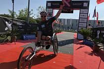 Třicet. Tolik závodů už na poloviční ironmanské distanci zvládl Jan Tománek.