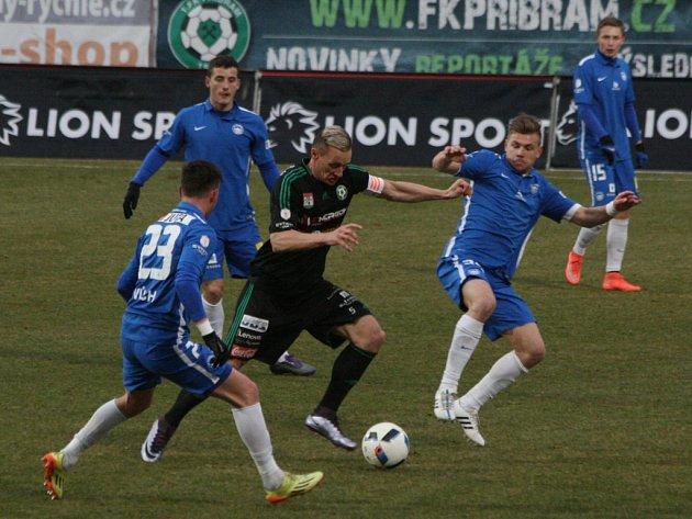 1.FK Příbram - Slovan Liberec.