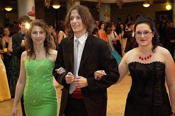 Maturitní ples Gymnázia Komenského Příbram