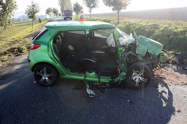Nehoda na Sedlčansku.
