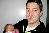 Nela Trnková si pro příchod na svět vybrala úterý 8. října, vážila 3,64 kg a měřila 52 cm. Domů do Příbrami si své nejmilejší – první děťátko a maminku Kateřinu – odveze tatínek Jakub.