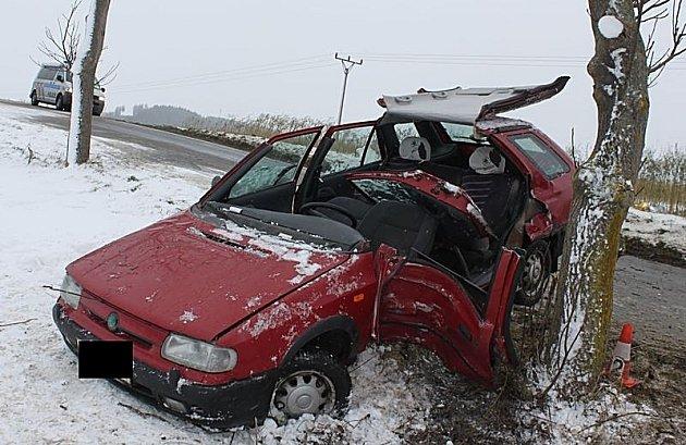 Nehoda u Nechvalic.