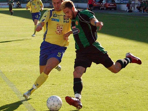 Michal Klesa (vpravo) vytvořil v útoku Marily rychlé duo s Danielem Huňou.