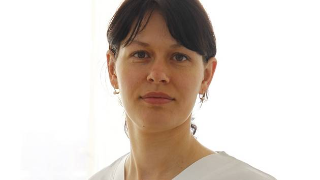 Kožní lékařka Dana Prusíková.
