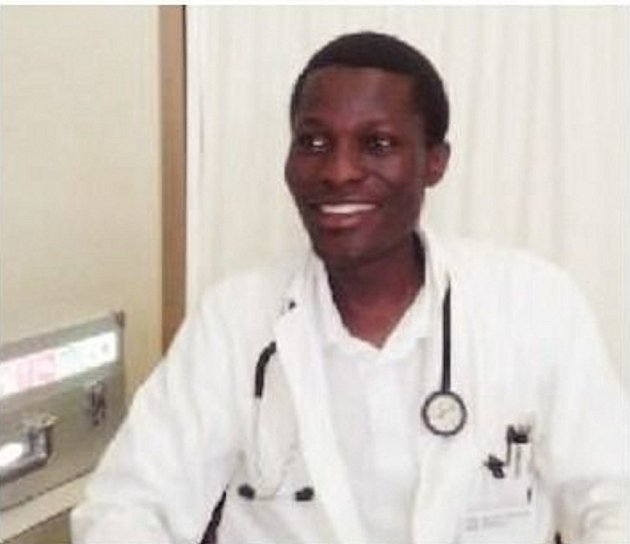 INTERNISTA příbramské nemocnice Njeka Waka Philip.