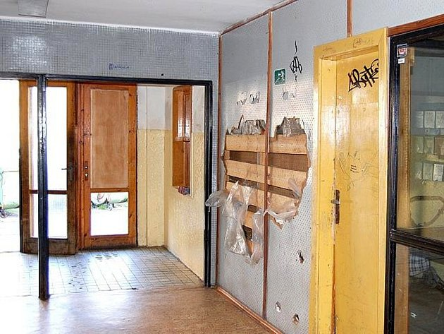 Ubytovna Stavusu Pod čertovým pahorkem v Příbrami.
