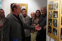 Vernisáž výstavy Půlstoletí příbramského divadla nejen ve fotografii v Galerii Františka Drtikola v Zámečku