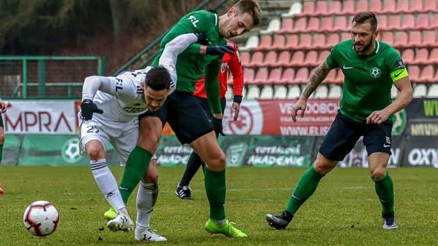 Zápas 23. kola FORTUNA:LIGY 1. FK Příbram - MFK Karviná 2:1 (1:0).