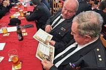 Výroční valná hromada devátého okrsku sborů dobrovolných hasičů ve Věšíně.