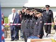Slavnostní akcí s oceněním zasahujících hasičů, ukázkami moderní i historické techniky nebo dovedností těch nejmenších si profesionální i dobrovolní hasiči připomněli 40. výročí požáru Svaté Hory.