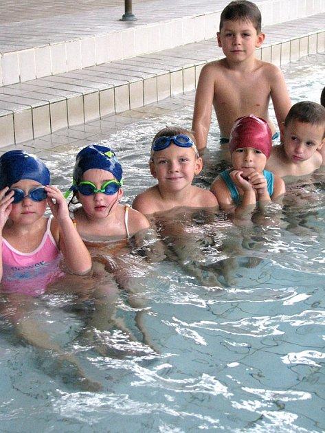 Plavecký výcvik dětí  MŠ Pohádka Příbram