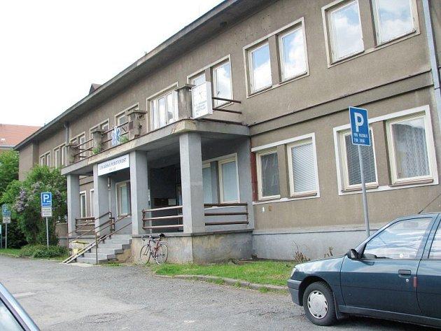 Budova II. polikliniky v Příbrami