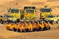 KM Racing team jede na Dakar 2009 se statutem národní reprezentace ČR.