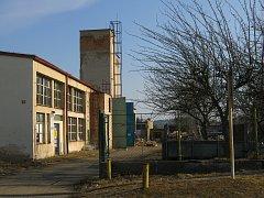 Místo, kde bude stát nový sběrný dvůr v Březnici.