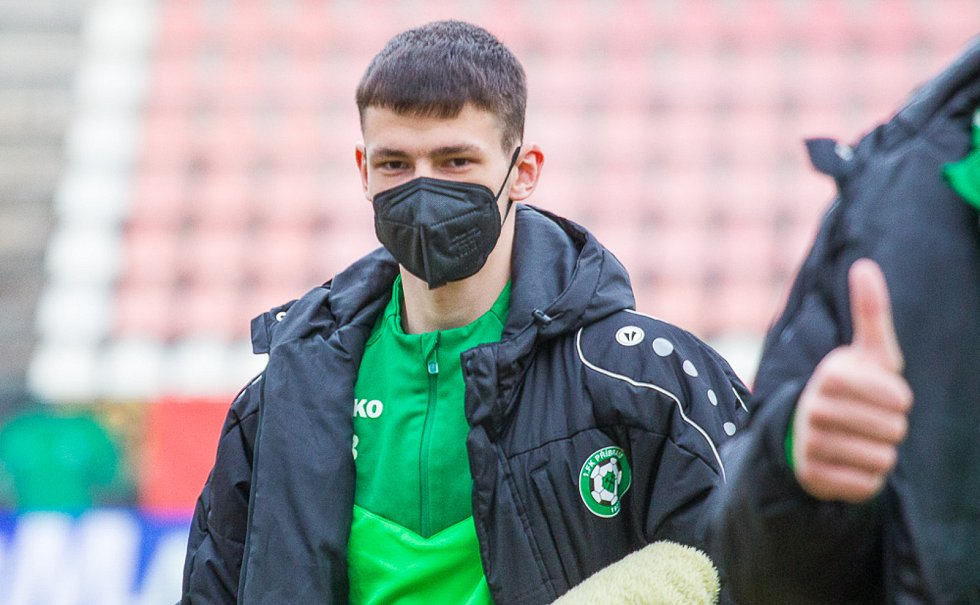 Příbramský teenager Josef Obdržal.