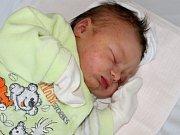 Natálie Partyová se narodila 21. listopadu s vahou 3,81 kg a mírou 51 cm Davidovi a Janě z Prostřední Lhoty.