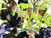 V Mníšku pod Brdy se konala část osmého ročníku soutěže záchranářů a zdravotníků SOS 2016 EXTREME.