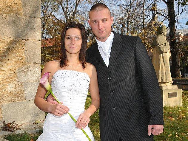V pátek 22. října v 10.30 hodin si v Zámečku v Příbrami řekli své ano Andrea Tomková a  Martin Štětka.