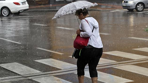 Déšť. Ilustrační fotografie.