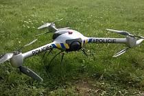 Policejní dron s termovizí.