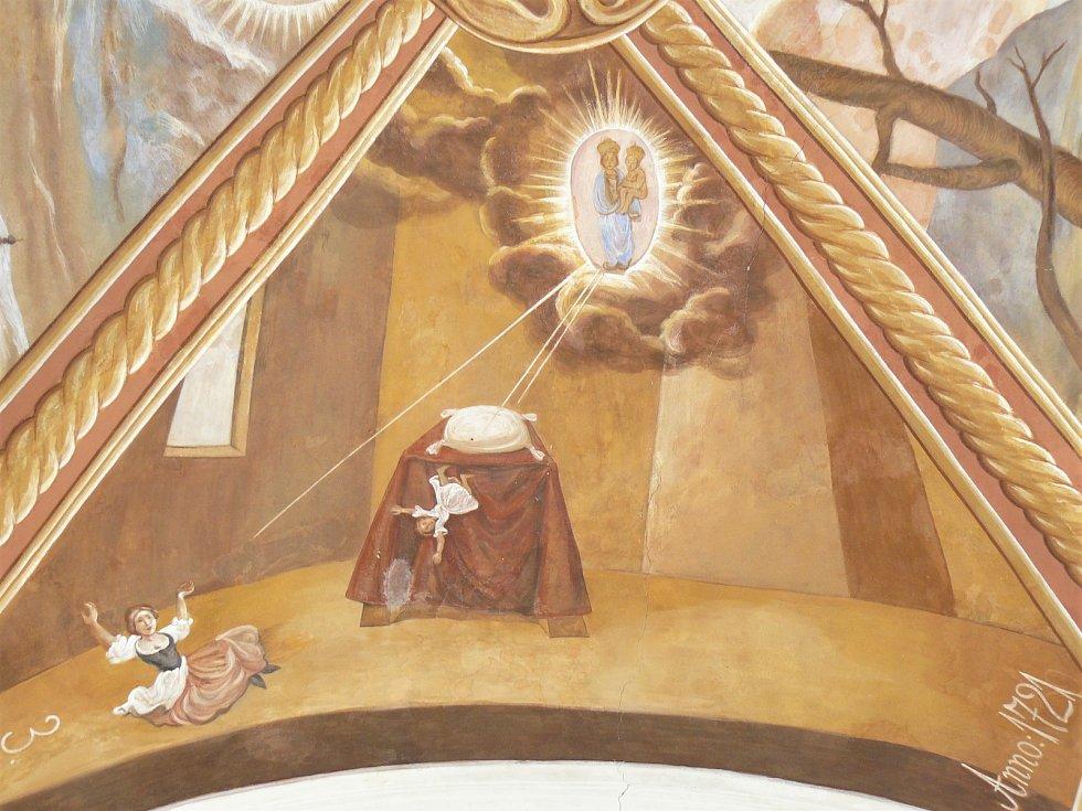 Sto svatohorských milostí: obraz číslo 3.
