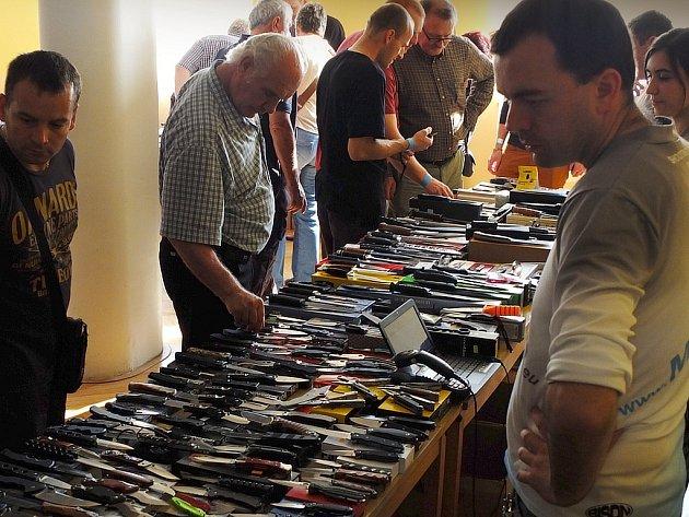 Výstava Nože 2014