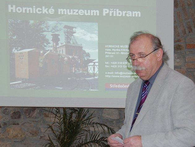 Ředitel Hornického muzea prezentoval práci muzea