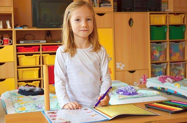 Předškoláci se připravují na zápis do prvních tříd.