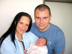 Od pátku 13. prosince mají maminka Michaela a tatínek Goran z Dobříše radost ze svého prvního děťátka – dcerky Barbary Pavlovič, která v ten den vážila 3,70 kg a měřila 51 cm.
