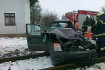 Tragická nehoda u Hudčic.
