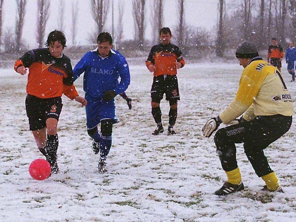 Derby mezi Rožmitálem a Dobříší B skončilo jasným vítězstvím domácích.