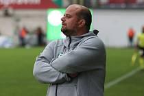 Trenér Příbrami Roman Nádvorník promluvil před domácím zápasem s Bohemians Praha 1905