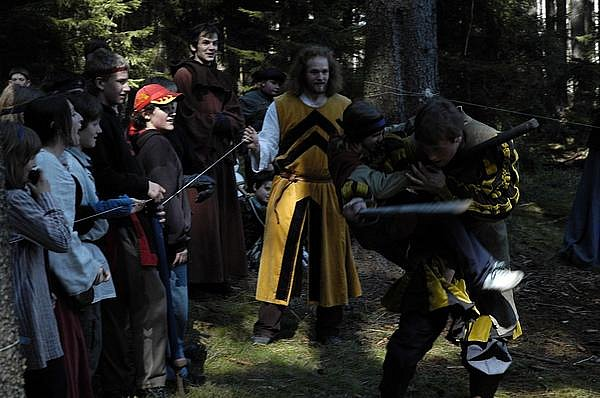 Děti bojovaly na Prokleté hoře