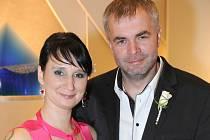 Jitka Krotká a Libor Vítek se vydali na společnou cestu životem v pátek 5. října hodinu před polednem na Zámečku v Příbrami.