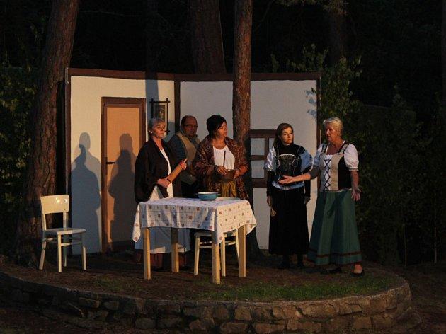 Ženský boj v Podlesí.