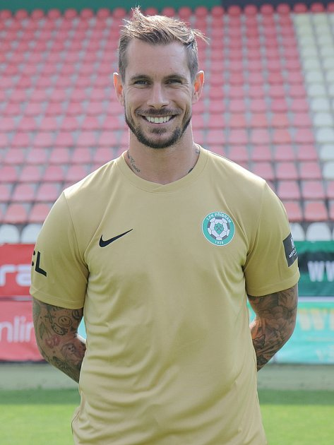 Brankář 1.FK Příbram Milan Švenger.