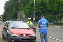 Policisté zastavili řidiče pod vlivem návykových látek.