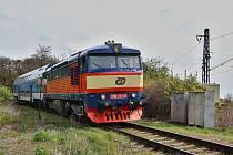 Lokomotiva Bardotka. Ilustrační foto