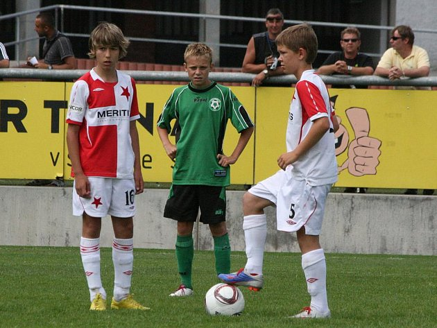 Danone Cup: Příbram - Slavia (2:0).