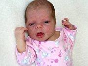 SOFIE PAKOSTOVÁ, první miminko maminky Soni a tatínka Jaroslava z Příbrami, se narodila v pondělí 13. března o váze 3,63 kg.