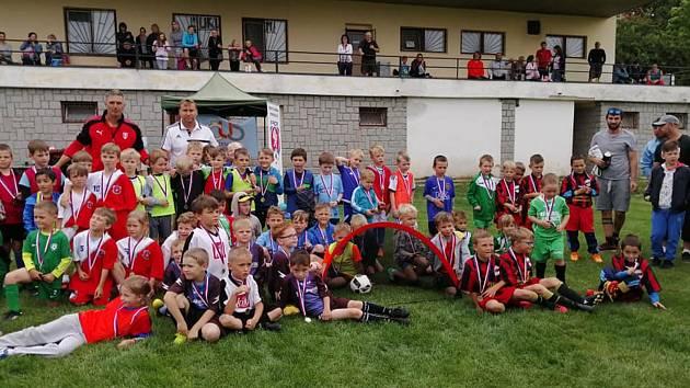 V Nečíně proběhl úvodní turnaj přípravek, který se hraje systémem tři na tři.