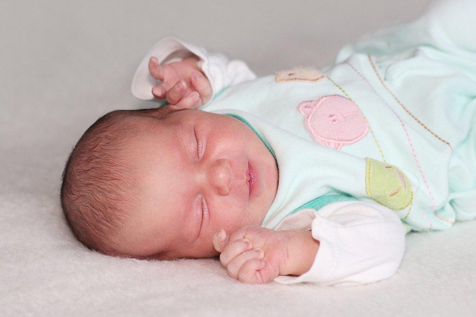 Alžběta Kotvová se narodila 10. listopadu 2018 s váhou 3,49 kg a mírou 50 cm Ivaně a Petrovi z Jinec. Doma čeká Nella (5) a Terezka (6).